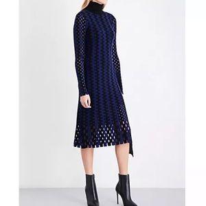 Diane Von Furstenberg 100% Merino Wool Dress P
